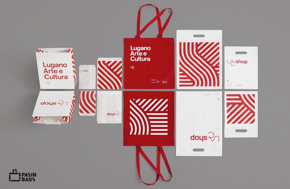 Pasin Bags per Lugano Arte Cultura
