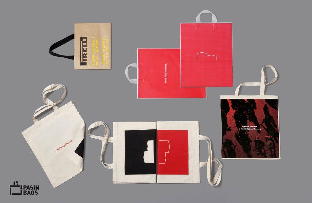 Pasin Bags per la fondazione Pirelli Hangar Bicocca