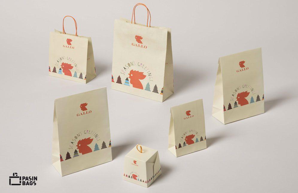 Shopping Bags Gallo Calze